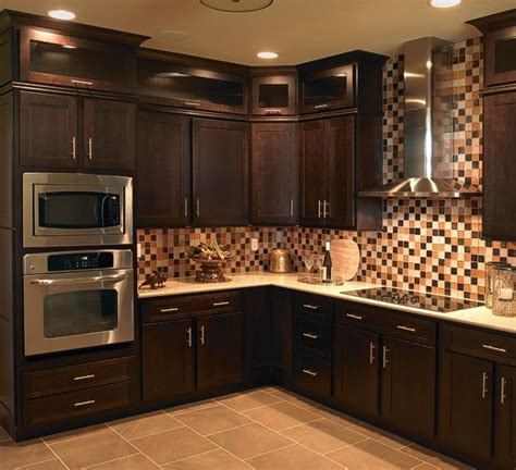 chocolate color kitchen cabinets 17 best images about mocha cabinet design ideas on