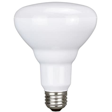 Soft White Led Light Bulbs Shop Utilitech 12 Pack 65w Equivalent Soft White Br30 Led Flood Light Bulbs At Lowes