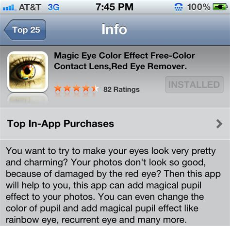 app that changes your eye color miss vyvy change your eye color with an iphone app