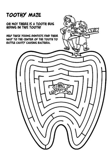 dental coloring pages print coloring image dental and dental hygiene
