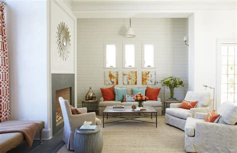 House Of Turquoise Living Room by Alys Coral And Aqua Our