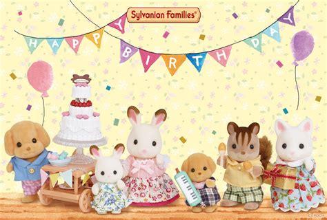 greeting card sylvanian families
