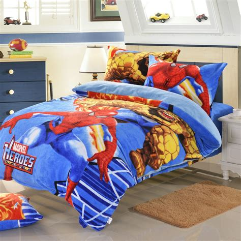 boys full size bedding sets supper warm fast shipping kids boys bedding queen size