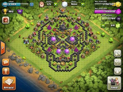 Halloween clans bases clash of clans clans stuff base layout