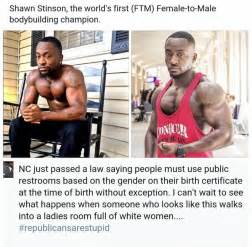 Where Do They Go To The Bathroom On Survivor Ftm Transgender Bodybuilder Shawn Stinson Speaks Out On