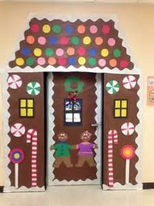 Winter Wonderland Door Decorating Ideas - classroom door decorations winter classroom door decoration gingerbread house christmas