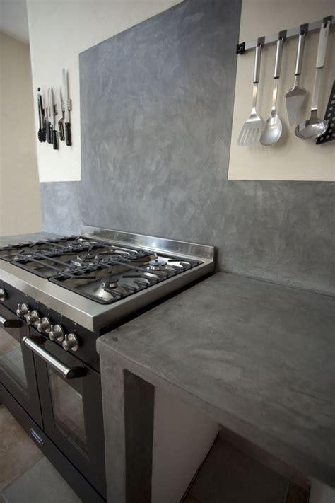 encimeras de microcemento cocina con microcemento en estantes encimera y mueble en