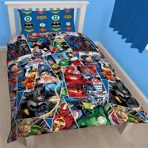 justice league bedding justice league invincible single duvet cover reversible