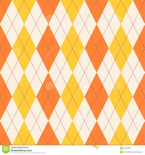 orange pattern web seamless classical argyle pattern royalty free stock