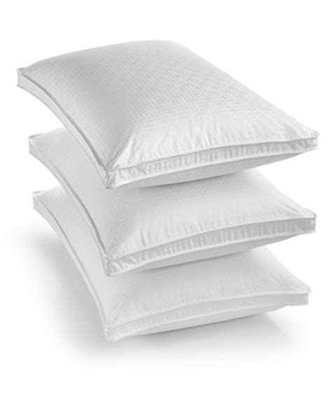macys bed pillows hotel collection european white goose down pillows only