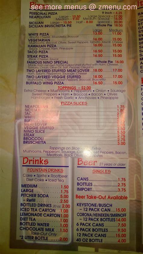 menu  pizza como    restaurant lehighton pennsylvania  zmenu