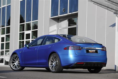 Brabus Tesla Brabus Zero Emission Makes The Tesla Model S Slightly More