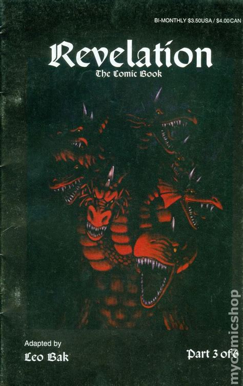 revelation books revelation the comic book 1996 comic books