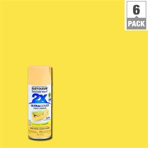 rust oleum painter s touch 2x 12 oz satin poppy general purpose spray paint 277994 the