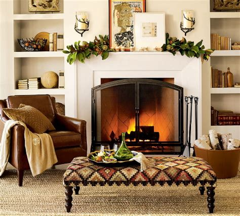 be creative with your fireplace mantel appearance