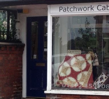 Patchwork Cabin - exhibitor list the west country quilt textile show