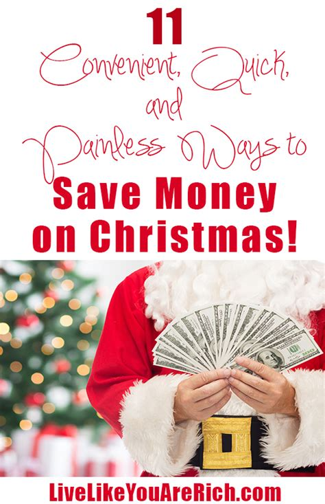 how to save money on christmas gifts conveniently live