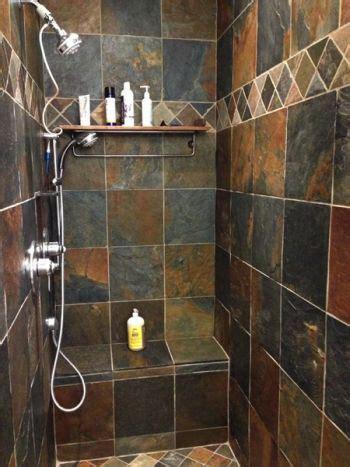 bathroom slate tile ideas rustic multi slate the slate companythe slate company