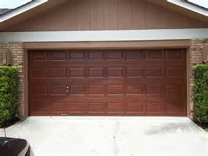 Paint For Garage Door Faux Wood Painting Everything I Create Paint Garage Doors To Look Like Wood