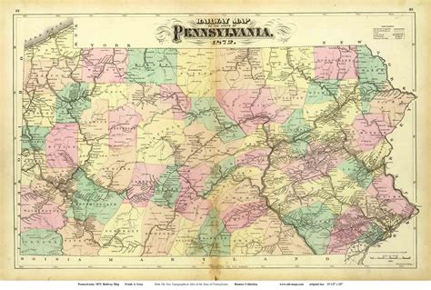 maps of pa maps of pennsylvania