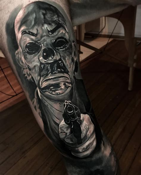 dark knight tattoo the 13 most disturbing tattoos of 2017