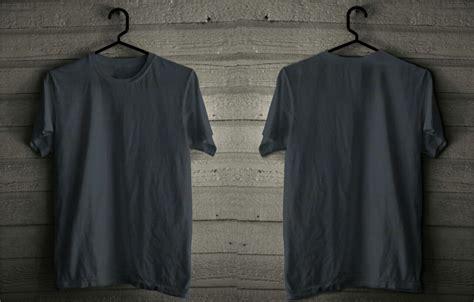 Kaos Baju Polos Combed Biru Solid Pria Wanita Cewek Cowok 1 jual baju kaos polo shirt pria mataharimall