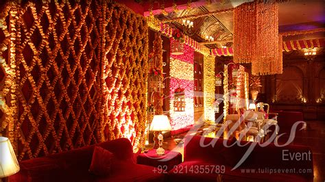 tulips event   best mehndi planner   mehndi stage