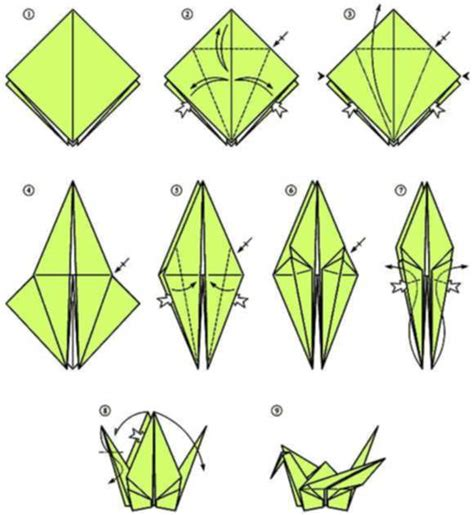 Origami Crane Directions - try this easy origami crane 2016
