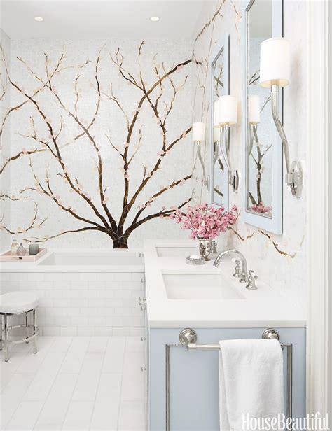cherry blossom bathroom decor mural bathroom cherry blossom tile mural
