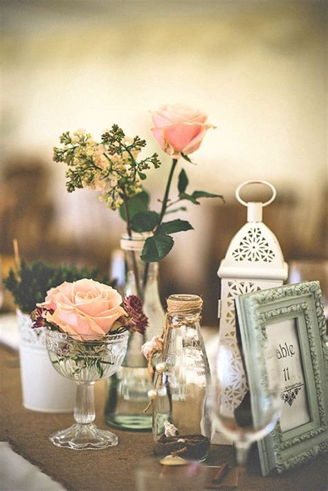 1000  ideas about Shabby Chic Centerpieces on Pinterest