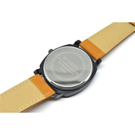 Termurah Gurren Jam Tangan Pria Kulit White gurren jam tangan pria kulit white