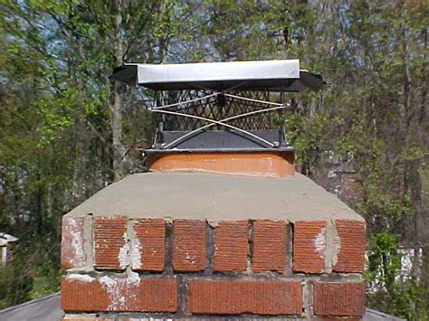 Chimney Mortar Crown Repair - what is a chimney crown and why is it important southern md