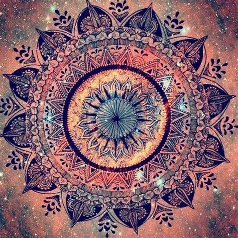 mandala pattern tumblr fafke nature hippie vintage spiritual blog following