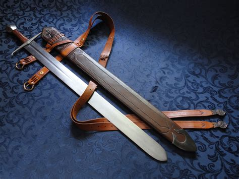 Handmade Custom Swords - dbk custom swords handmade historical custom scabbards