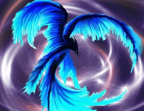 wallpaper blue phoenix blue phoenix by amyjoviregirl on deviantart