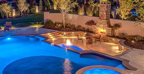 Homemade Kitchen Island Ideas nashville custom pool design outdoor kitchens pool