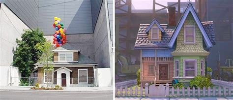up the movie house sadly we might see the pixar linked up house demolished