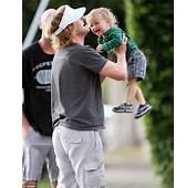 Owen Wilson Scoops Up Mini Me Son Robert And Showers Him