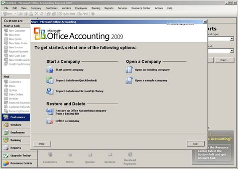 Office Express Microsoft Office Accounting Express 2009