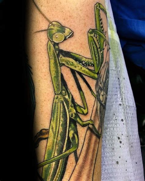 preying mantis tattoo 50 praying mantis designs for insect ink ideas