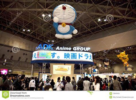 tokyo international anime fair  editorial image