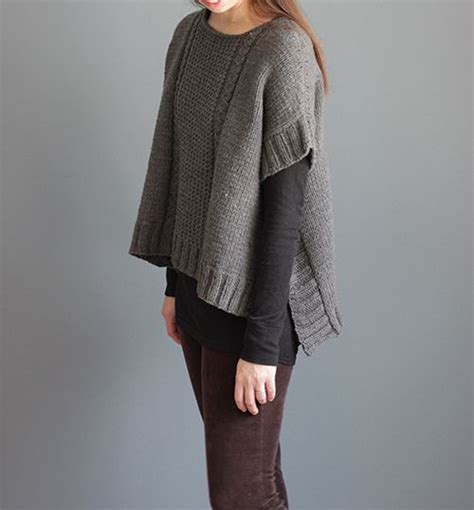 knit poncho pattern 25 best ideas about poncho knitting patterns on