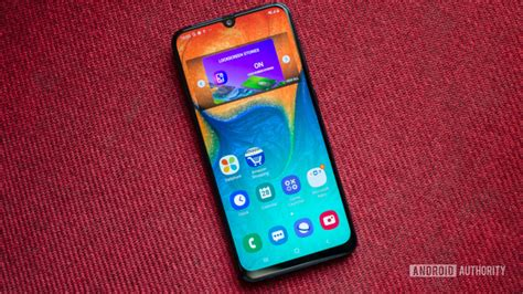 Samsung Galaxy A50 Front by Samsung Galaxy A30 Review Why Does This Phone Exist