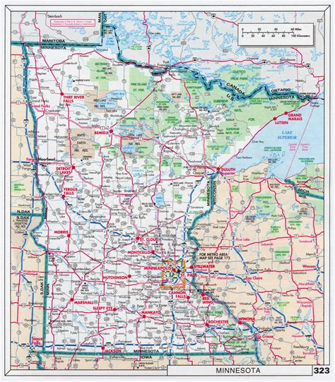 map of mn highways minnesota state road map swimnova