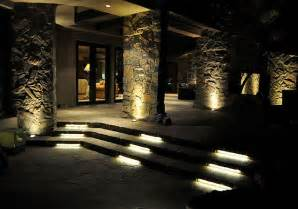 Lighting For Patios Led Patio And Stair Lighting Contemporary Patio St Louis By Bright Leds