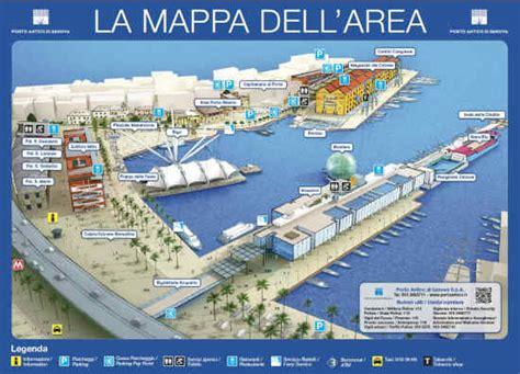 mappa porto di genova come arrivare all acquario di genova