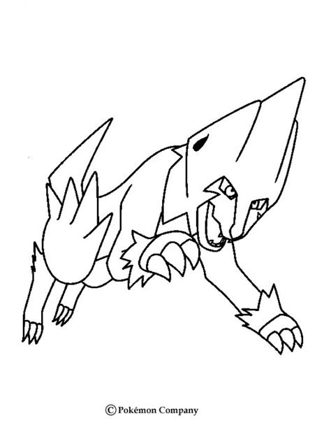pokemon coloring pages hellokids manectric pokemon coloring page more electric pokemon