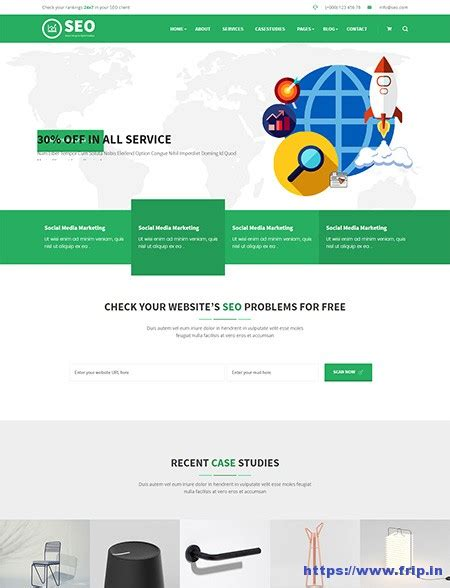 30 Best Seo Website Templates For Seo Companies Agency 2017 Frip In Seo Template 2017