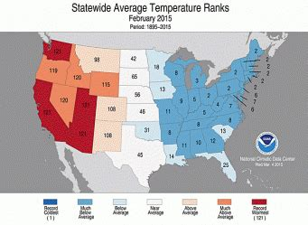 us weather map march 2015 groundhog day national centers for environmental