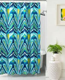 eclectic shower curtains trina turk bath blue peacock shower curtain eclectic